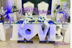 love table blue